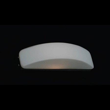 Arandela Em Aço-Vidro 28Cmx7Cmx9Cm  2Xg9 - Cr-Br - ZD3002