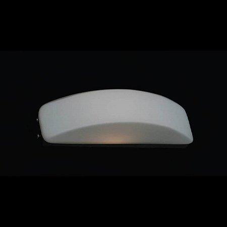 Arandela Em Aço-Vidro 55Cmx7Cmx12Cm  4Xg9 - Cr-Br - ZD3004