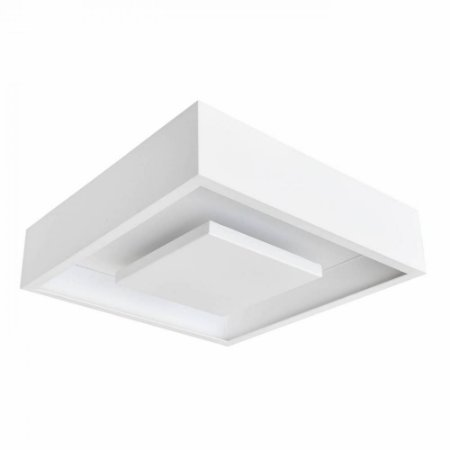 Plafon Sobrepor Quad Hide Led 24W - Br - DL082WW