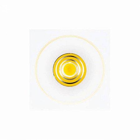 Spot Halo Em Alumínio 14,5Cmx14,5X14Cm 1Xled 9W - - NS1012