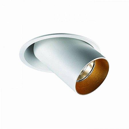 Spot Spy Round Alumínio 11Cmx13,6Cm 1Xled 9W - Br - NS1044