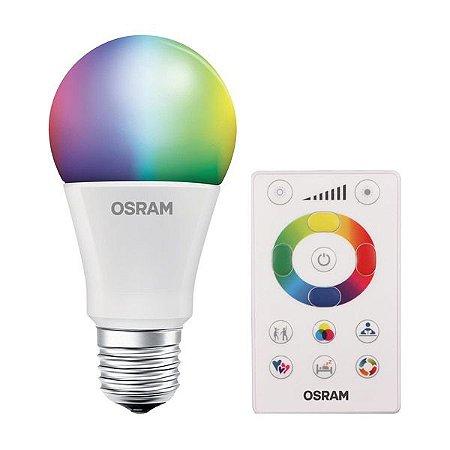 KIT 3 LÂMPADA LED CLA RGBW 7.5W 600lm BIV LEDVANCE OSRAM - 7014872
