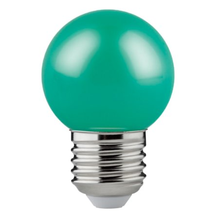 Lâmpada Led Bolinha 1.2W Verde 50LM E27 Biv Osram