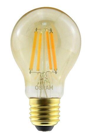 Lâmpada Led Vintage Dim 7W 2500K 725LM E27 220V Osram