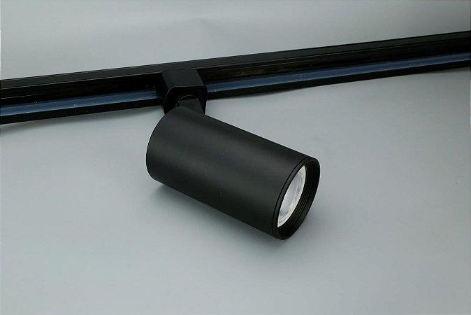 Spot para Trilho Eletrificado PAR20 E27 Preto Osram