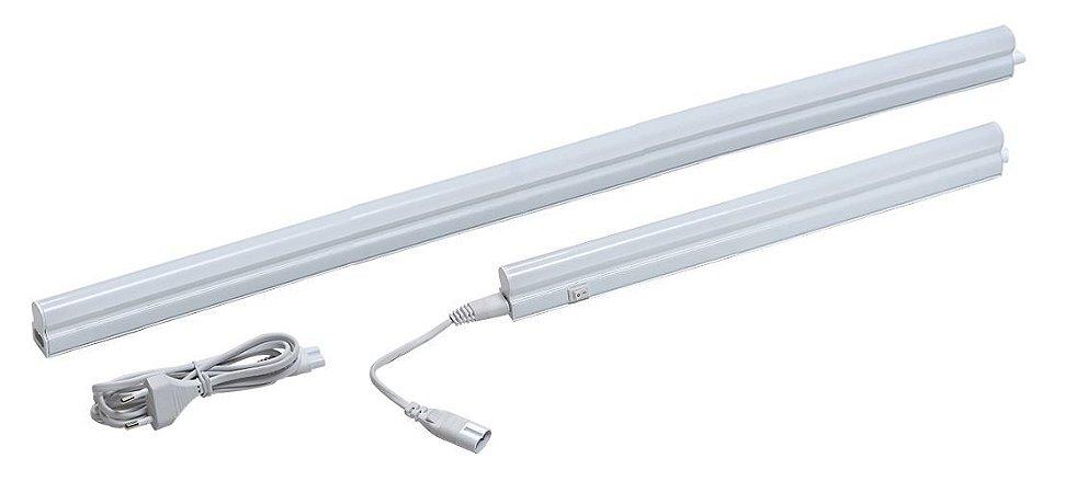 Luminária de Sobrepor Led Linear 8W 3000K 850LM ON/OFF Osram