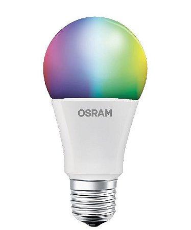 Lâmpada Led Bulbo com Controle RGB 7.5W 600LM E27 BIV Osram