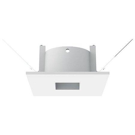 Embutido Face Plana para Mini Dicróica Branco Interlight