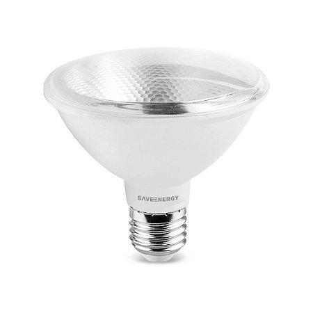 Lâmpada Led PAR30 10W 4000K 760LM E27 Biv Saveenergy