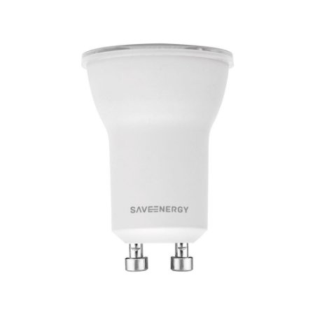 Lâmpada Led Mini Dicróica 4W 2700K 285LM GU10 Biv Saveenergy