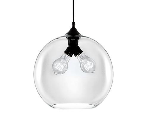 Pendente em vidro transparente - 4083 Mart Collection
