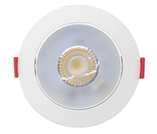 Luminária de Embutir 7W 3000K 500LM Redondo Biv Opus
