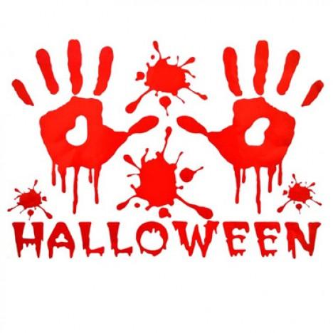 Adesivo Sangrento 2 Mãos - Halloween Edition