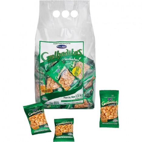 Amendoim Grelhaditos Sem Pele 50 Un 30 G Cada Tipo Exportação - Santa Helena