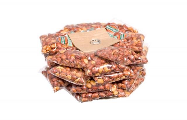 Amendoim Torrado e Salgado com Pele 30 Pacotinhos - Catelândia