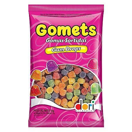 Bala de Goma Gomets Dori 1 Kg - Catelândia