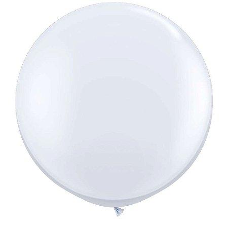 Balão Branco Tamanho Grande para Balas e Guloseimas - São Roque