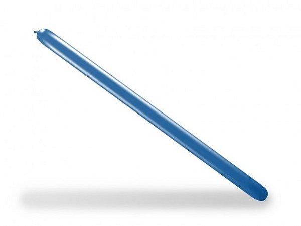 Balão Canudo Para Modelagem Azul Cobalto São Roque