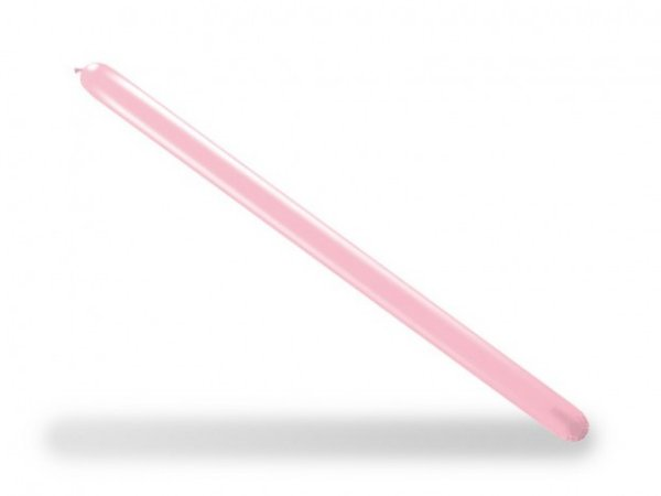 Balão Canudo Para Modelagem Rosa Baby São Roque