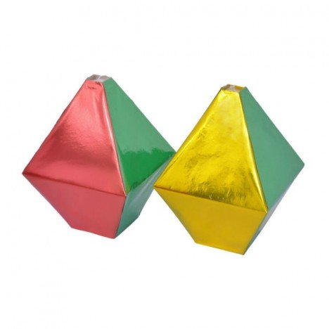 Balão Colorido Brilhante Enfeite Festa Junina 30 Cm 03 Un - Catelândia