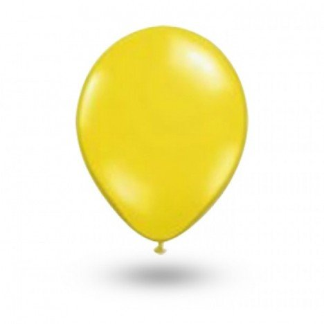Balão Série Imperial Amarelo Sol n° 07 Pacote 50 Un - São Roque