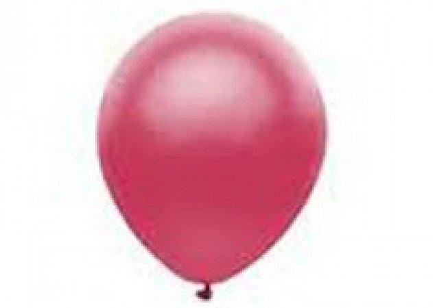 Balão Série Imperial Ameixa n° 07 Pacote 50 Un - São Roque