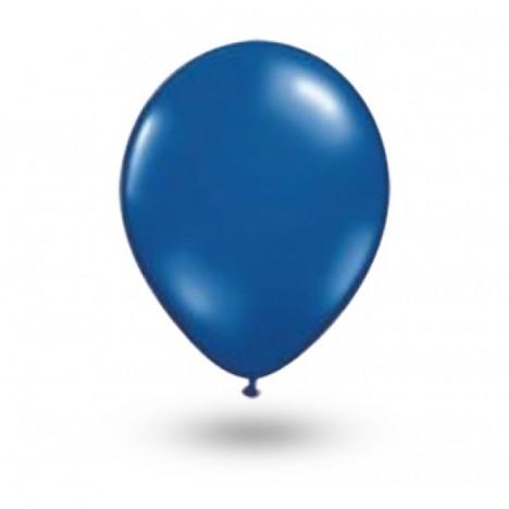 Balão Série Imperial Azul Cobalto n° 07 Pacote 50 Un - São Roque