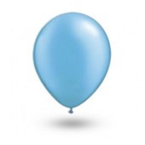 Balão Série Imperial Azul Turquesa n° 07 Pacote 50 Un - São Roque