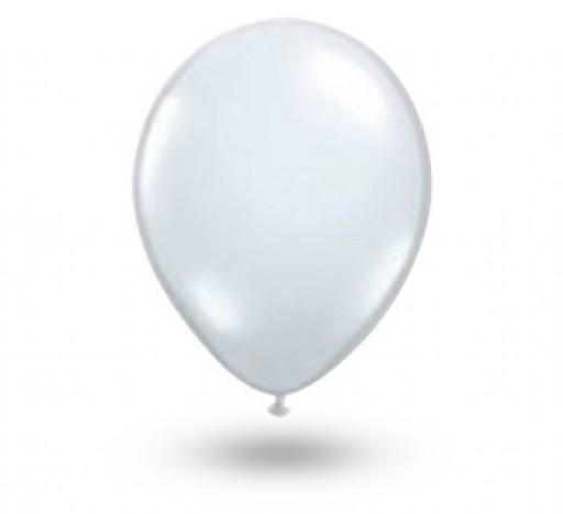 Balão Série Imperial Branco Polar n° 05 Pacote 50 Un - São Roque