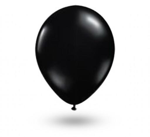 Balão Série Imperial Preto Ebano n° 05 Pacote 50 Un - São Roque