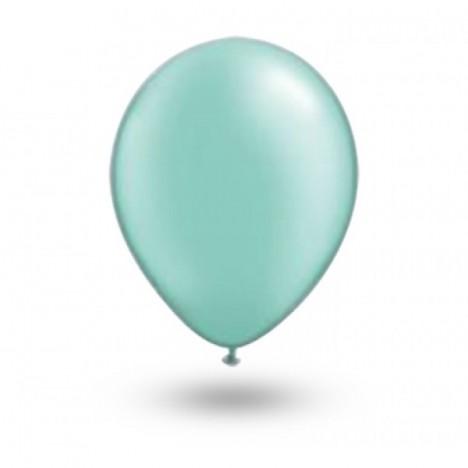 Balão Série Imperial Verde Hortelã n° 07 Pacote 50 Un - São Roque