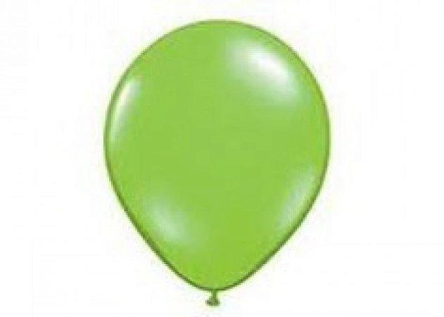 Balão Série Imperial Verde Maçã n° 05 Pacote 50 Un - São Roque