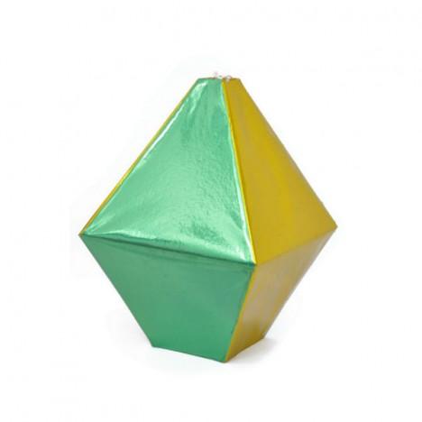 Balão Verde Amarelo Brilhante Copa do Mundo 30Cm 03 Un - Catelândia