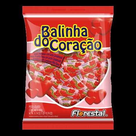 Balinha do Coração 500g - Catelândia