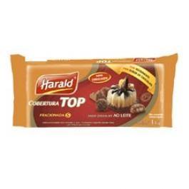 Barra de Chocolate Cobertura Top Ao Leite 1 Kg - Para Ovo de Páscoa