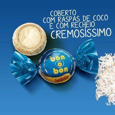Bombom Bon O Bon Beijinho Pacote 50 Un Arcor - Catelândia