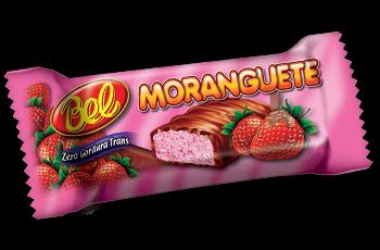 Bombom com Recheio Morango Moranguete Pote 50 Un - Bel