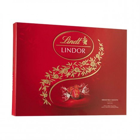 Caixa Chocolate Suíço Lindor Balls Milk Lindt - 300g
