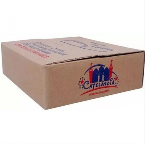 Caixa Com 200 Doces De Banana Embalados Individualmente - Catelândia