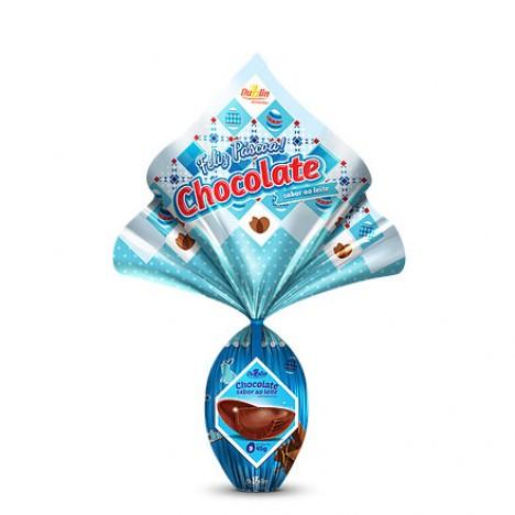 Caixa de Ovinhos de Chocolate N° 06 para Doação 45g 48 Un. - Catelândia