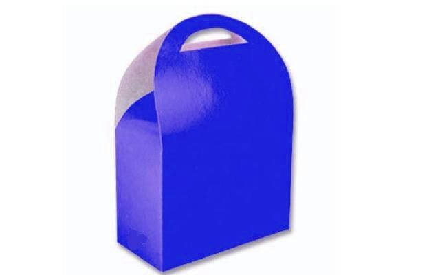 Caixa Surpresa para Doces e Guloseimas Azul Escuro 08 Un - Catelândia