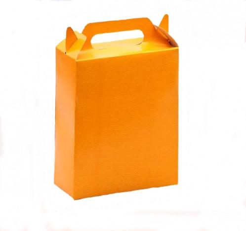 Caixa Surpresa para Doces e Guloseimas Laranja 08 Un - Catelândia