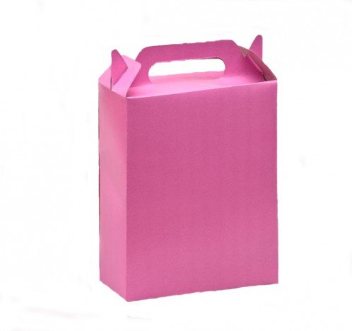 Caixa Surpresa para Doces e Guloseimas Rosa 08 Un - Catelândia