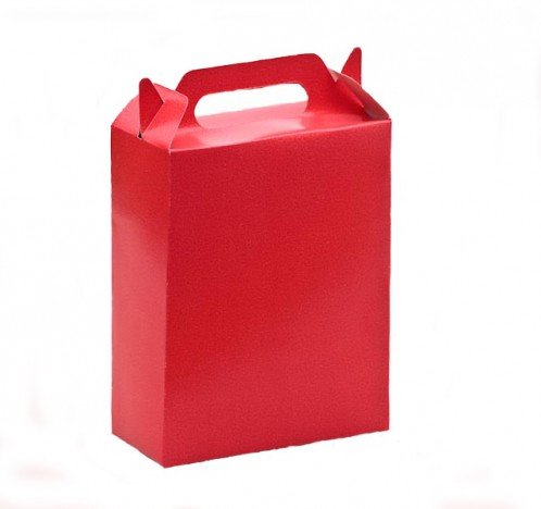 Caixa Surpresa para Doces e Guloseimas Vermelha 08 Un - Catelândia