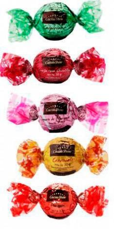 Cesta De Chocolate com Bombons Sonho de Valsa e 10 Trufas - Catelândia