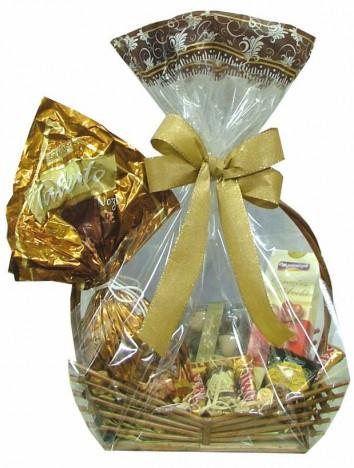 Cesta De Luxo, Ovo de Páscoa Talento e Muitos Chocolates