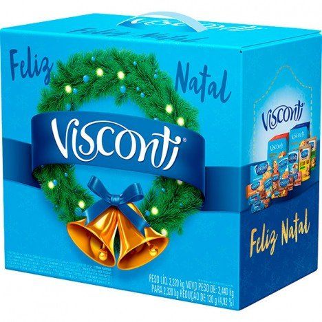 Cesta de Natal Completa  Visconti - Catelândia