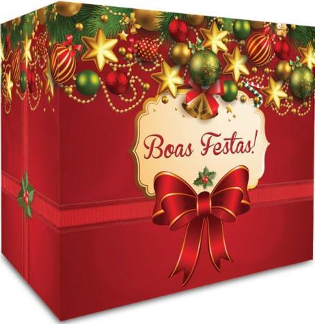 Cesta Presente de Natal - Diversos Itens - Para Ceia - Catelândia