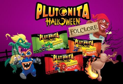 Chicle Plutonita Folclore 40 Un Halloween Edition - Catelândia