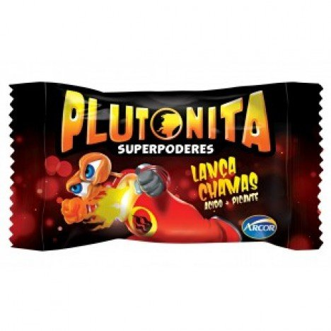 Chicle Plutonita Super Poderes Lança Chamas 40 Un Halloween Edition - Catelândia